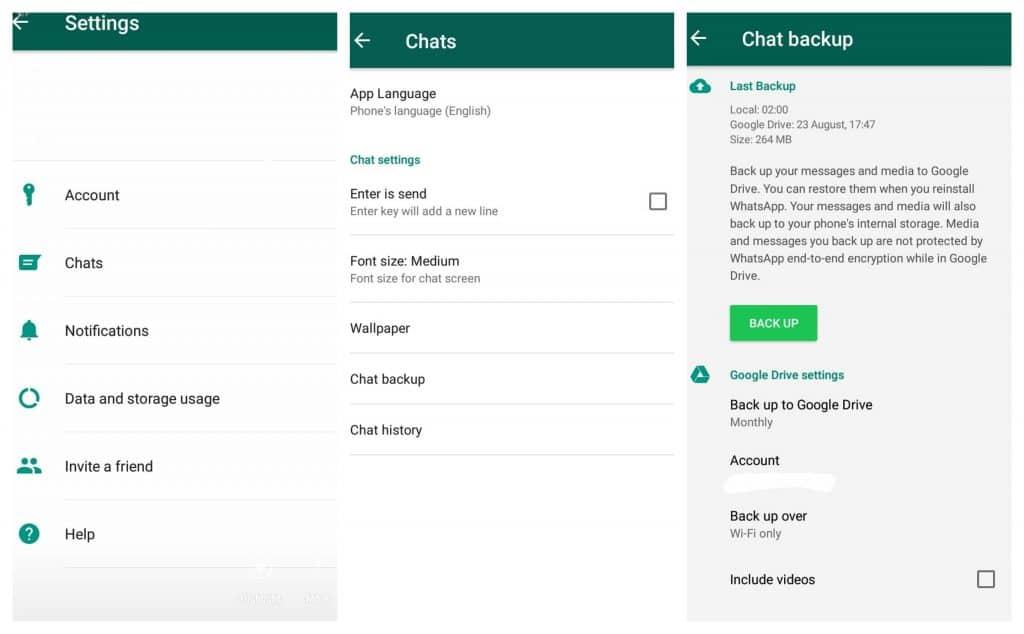 Come salvare le chat di Whatsapp
